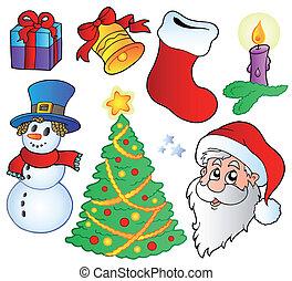 イメージ, 様々, クリスマス