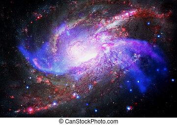 イメージ, 要素, nebula., これ, nasa, 銀河, 供給される