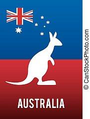 イメージ, 関係した, オーストラリア