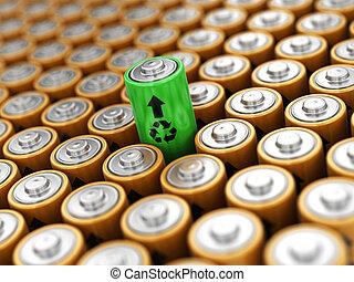 イメージ, 電池, 背景