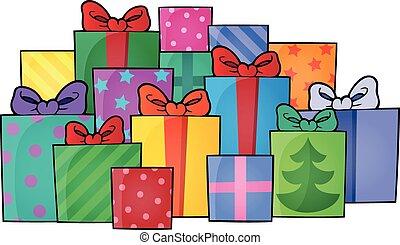 イメージ, 5, 主題, 贈り物