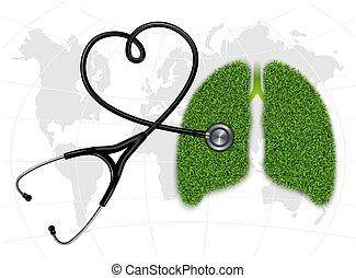 イメージ, pulmonology., 象徴的