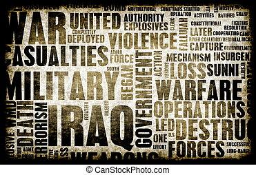 イラク, 戦争