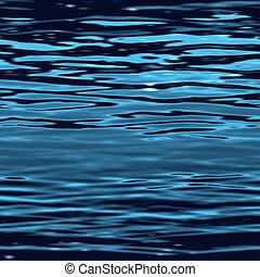 ∥, イラスト, の, a, seamless, 水表面