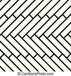 イラスト, -, ベクトル, 寄せ木張りの床, アイコン, 床材