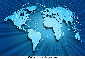 インターネット, 地球