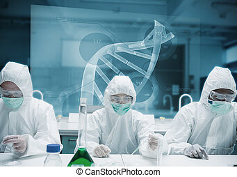 インターフェイス, 実験室, 仕事, 未来派, 化学者