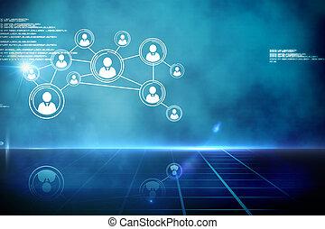 インターフェイス, 未来派, 技術