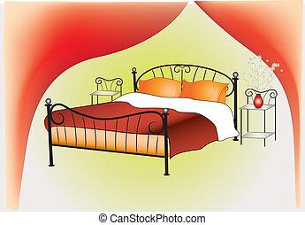 インテリア・デザイン, 寝室