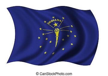 インディアナの旗