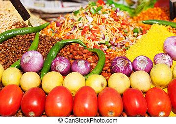 インドの 食糧, 通り