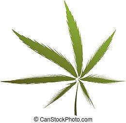 インド大麻の葉