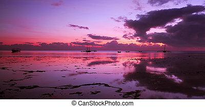インド洋, 日の出