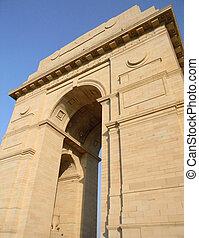 インド, デリー, 新しい, 門