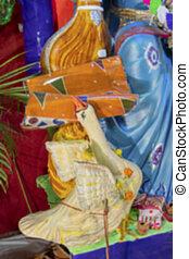インド, saraswati, 女神, kolkata