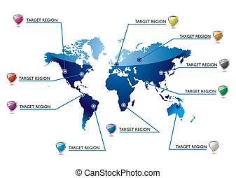 インフォメーション, 世界地図
