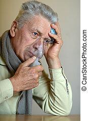 インフルエンザ, 吸入, 人