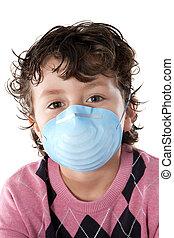 インフルエンザ, infected, 子供