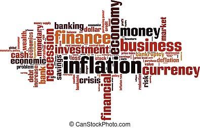 インフレーション, 単語, 雲