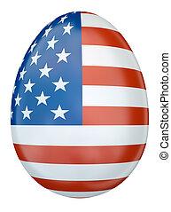 イースターエッグ, 合衆国旗