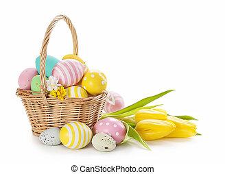 イースターバスケット, 卵