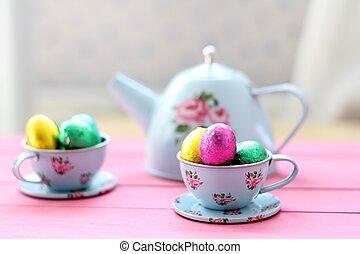 イースター, お茶