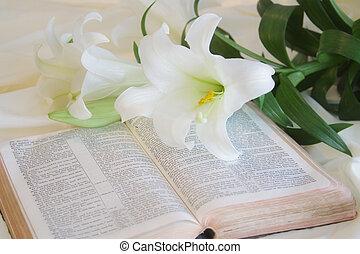 イースター, 聖書, ユリ