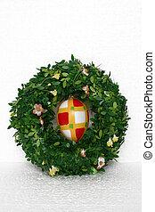 イースター, 花輪, そして, 卵