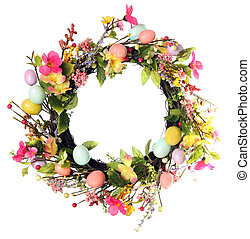 イースター, 花輪, 卵