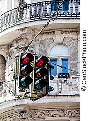 ウィーン, ライト, 通り, austria.