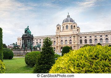 ウィーン, 見落とすこと, ∥あるいは∥, teresa, オーストリア, 歴史, 自然, マリア, 博物館, 広場, 四分の一