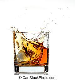 ウイスキー, はね返し