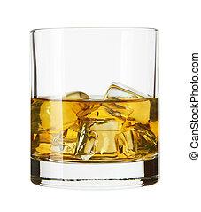ウイスキー, ガラス