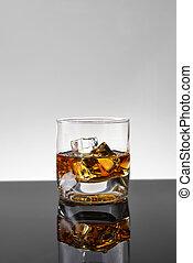 ウイスキー, 氷
