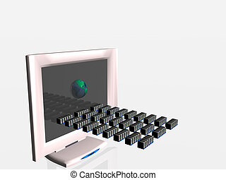 ウイルス, コンピュータ, spread., 事実上