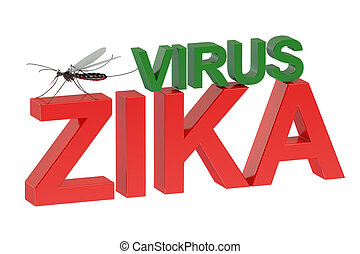 ウイルス, 概念,  zika