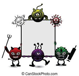 ウイルス, 漫画