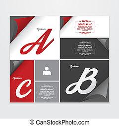 ウェブサイト, ありなさい, グラフィック, レイアウト, 型, 現代, /, infographic, ラベル, ベクトル, 使われた, 缶, テンプレート, infographics, デザイン, ∥あるいは∥