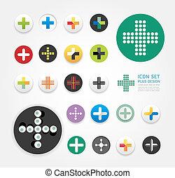 ウェブサイト, ありなさい, セット, レイアウト, アイコン, グラフィック, /, プラス, ベクトル, 使われた, 缶, infographics, デザイン, ∥あるいは∥