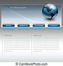 ウェブサイト, ビジネス, テンプレート