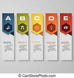 ウェブサイト, レイアウト, 数, template/graphic, デザイン, きれいにしなさい, 旗, ∥あるいは∥