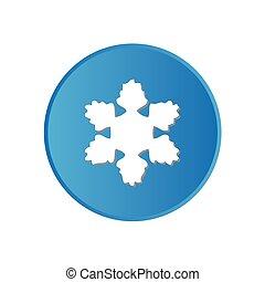 ウェブサイト, 広場, カラフルである, app, -, ∥あるいは∥, ボタン, 雪片