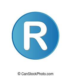 ウェブサイト, 広場, カラフルである, app, -, ボタン, r, ∥あるいは∥