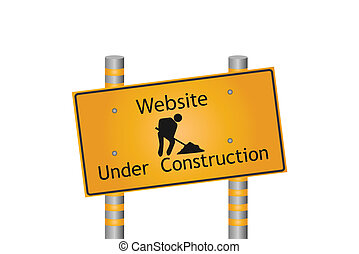 ウェブサイト, 建設, 下に