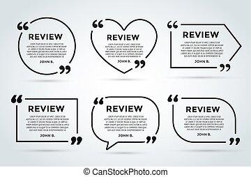ウェブサイト, 引用, citate, rewiew, テンプレート, ブランク