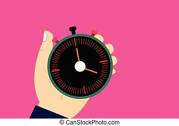 ウェブサイト, 概念, 広告, ビジネス, スペース, テキスト, ボタン, 機械, 腕時計, 隔離された, タイマー, 胡, 止まれ, 始めなさい, デザイン, 分析, テンプレート, 手を持つ, コピー, 空