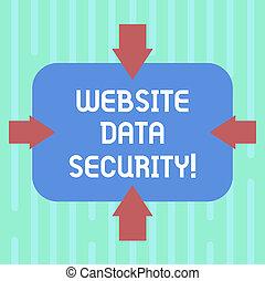 ウェブサイト, 無許可, 概念, 単語, 内部, 指すこと, テキスト, デジタル, photo., 執筆, 4, security., 形, データ, ブランク, 矢, 保護, 長方形, ビジネス, 側, ユーザー