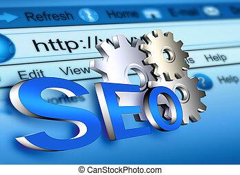 ウェブサイト, seo