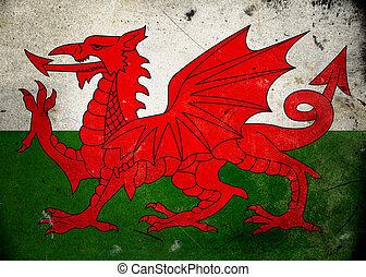 ウェールズの旗, グランジ