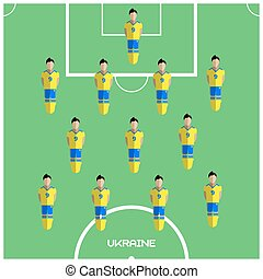 ウクライナ, クラブ, フットボール選手, ゲーム, コンピュータ